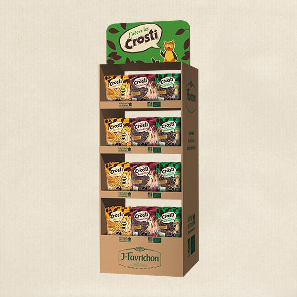 Box présentoir J.Favrichon - Crosti